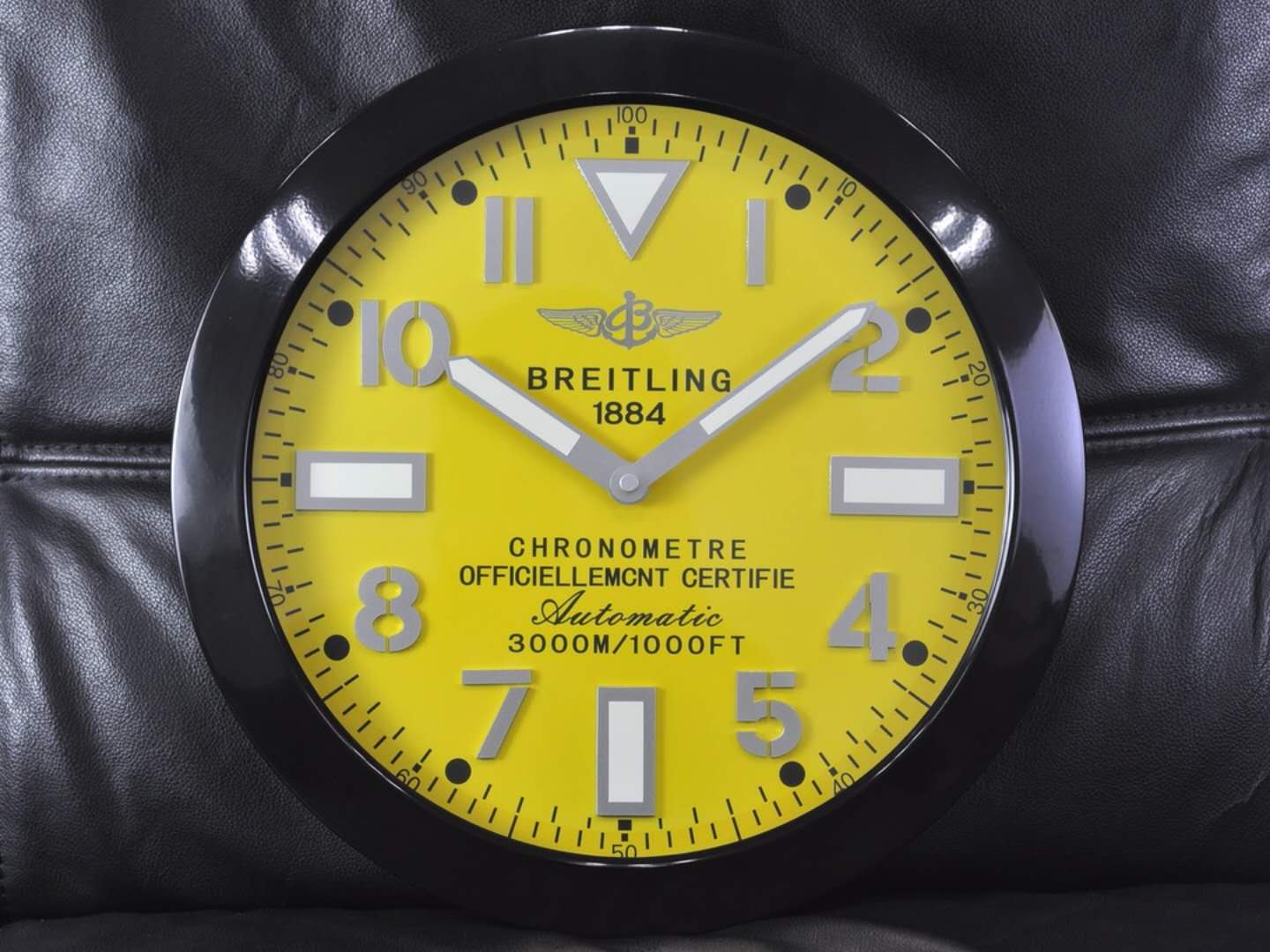Breitling Premier Norton Edition wall clock from Germany
