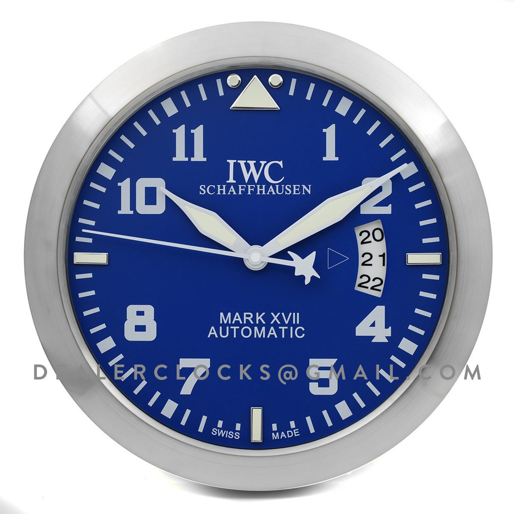 "IWC Schaffhausen Big Pilot's wall clock 340mm Edition ""Le Petit Prince"""