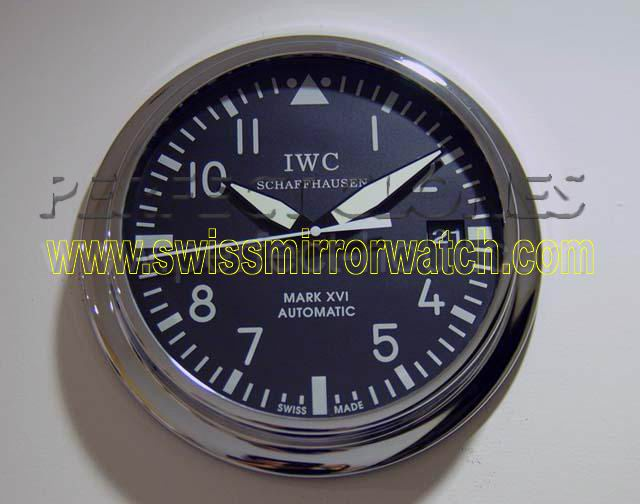 IW324001-Pilot's Automatic 40cm wall clock black