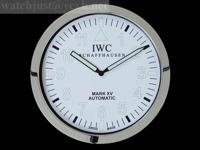 IWC Chronograph Automatic silver dial wall clock IW3716-04